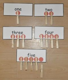 This site has math / language arts clothes pin game ideas (folder games). Easy to play and store.