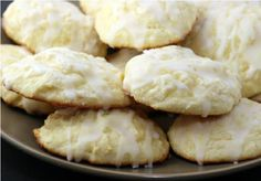 Ricotta cheese cookies.  Cooking with Nonna