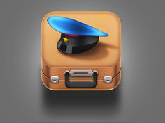 Military Travel App Icon