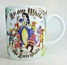 Paul Cardew Snow White Fairytale Princess Coffee Mug Tea Cup England USA Seller #PaulCardew