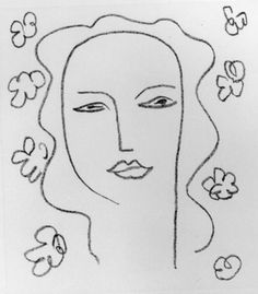 By Henri Matisse (1869-1954), 1950, Madeleine; a study. Drawn as part of a series of studies for the Chapel de Vence.