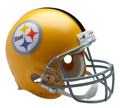 Pittsburgh Steelers Throwback 1962 Riddell Authentic Pro Line Helmet