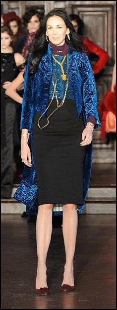 "L'Wren Scott. 6'3"". Designer. Model. Stylist. Tall Women. Amazon. #LWrenScott #L #Wren #Scott #Wren_Scott #Model #Tall_Model #Amazon #Tall #Tall_Fashion"