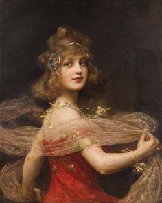 """""""Salomé"""" by Paul Antoine de La Boulaye."""