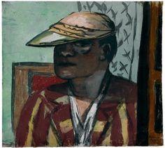 Max Beckmann, Self-Portrait, 1938. Gouache on board, 19 x 20 7/8 inches (48.3 x 53 cm). Solomon R. Guggenheim Museum, New York, Bequest, Richard S. Zeisler 2007.41