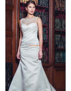 Augusta Jones 2013 Elegante Lange Brautkleider aus Taft