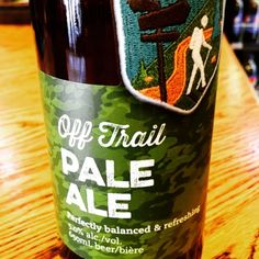 Old Yale Brewing Co. ○ Perfectly balanced and refreshing Off Trail #PaleAle #beers #beerporn #beertime #brewery