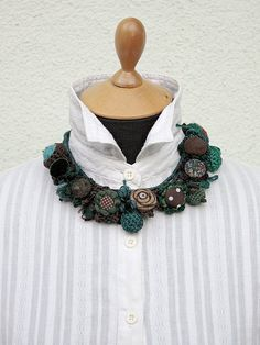 Handmade necklaces 2 in 1 by rRradionica on Etsy, €75.00