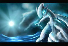 Blue Moon by Deruuyo on DeviantArt Flying Type Pokemon, Deadpool Pikachu, Pokemon Official, Lugia, Pokemon Fan Art, Blue Moon, Fantasy Art, Deviantart, Gallery