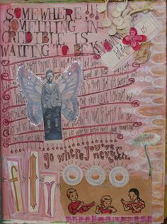 journal page by pam garrison, via Flickr