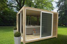 Abri spa OUTSUN : Furniture by EXTAZE OUTDOOR