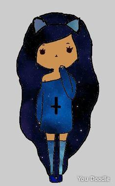 Galaxy Chibi Girl