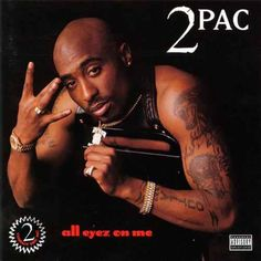 Tupac Shakur All Eyez On Me Album This has to be one of the dopest rap albums in all of history. Tupac has a way with his lyrics to draw me in. Rap Albums, Hip Hop Albums, Best Albums, Greatest Albums, Greatest Hits, Tupac Shakur, Death Row Records, Snoop Dogg, Album Covers
