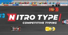 Stretch your typing fingers, prepare your racer, and get ready for Nitro Type - the next generation of competitive typing games. Start your free online race now! Typing Skills, Typing Games, Typing Competition, Learn To Type, Online Typing, Teen Programs, Sonic And Shadow, Fun Games, Teaching Resources