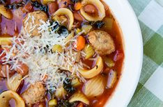 Meatball Minestrone Soup – Italian Food Forever