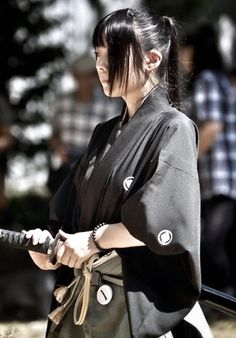 Samurai Woman!
