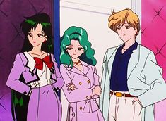 sailormoon character design | Look at those classy broads.