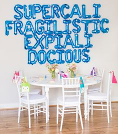This Kid's Birthday Party is Supercalifragilisticexpialidocious - Inspired By This