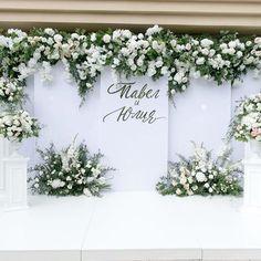 Wedding Backdrop Design, Wedding Stage Design, Wedding Reception Backdrop, Engagement Decorations, Outdoor Wedding Decorations, Marquee Wedding, Minimalist Wedding Decor, Tall Wedding Centerpieces, Wedding Background