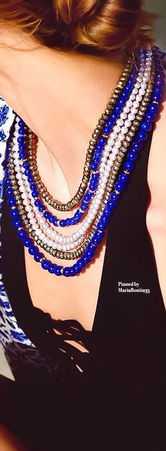 David Yurman Pretty Necklaces, David Yurman, Women Jewelry, Bling, Pearls, Fashion, Moda, Jewel, Fashion Styles