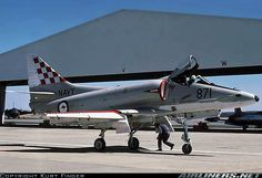 Royal Australian Air Force McDonnell-Douglas A-4G Skyhawk