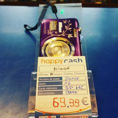 Nikon Coolpix 20mp zoomx5 dispo #happycashlannion #bonsplans #bonnesaffaires #happytech22 #nikon #coolpix Dispo dans votre happycash Lannion depuis le January 09 2018 at 06:12PM