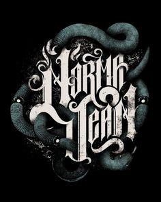 Typography by Hylton Warburton