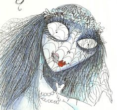 Posting art from the brilliant mind of Tim Burton. Shut Down *Not affiliated with Tim Burton in any. Tim Burton Sketches, Tim Burton Artwork, John Tenniel, Corpse Bride, Jim Henson, Weird Art, Stop Motion, Concept Art, Art Projects