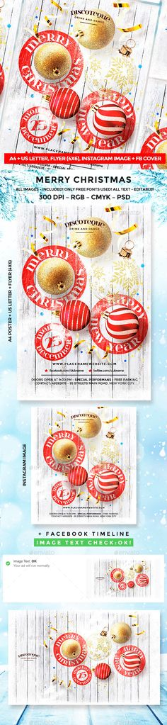 #Christmas - Events #Flyers