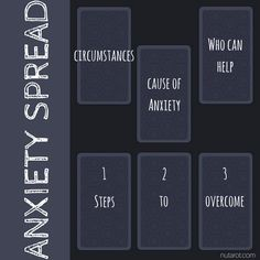 Anxiety Tarot Spread - nutarot.com