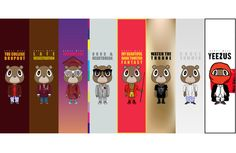 Evolution of the Kanye West bear....