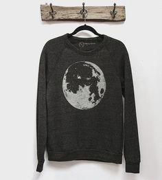 Super Moon Pullover Sweatshirt by nothing-obvious