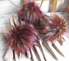10 12 cm/ 4 4.7 Faux fur pom pom Multicolor Fur #furpompom