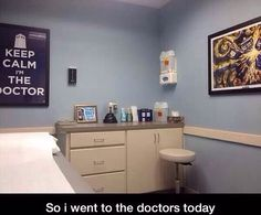 My type of doctors office ;)