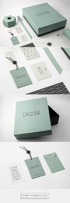 House of Dagmar Fashion Branding by BrittonBritton | Fivestar Branding Agency – Design and Branding Agency & Curated Inspiration Gallery