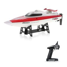 41.99$  Buy here - http://aikb8.worlditems.win/all/product.php?id=RM7927EU - GoolRC GC001 2.4G Water Cooling System Self-righting 30km/h High Speed Racing RC Boat