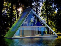 Pyramid Home on Lake