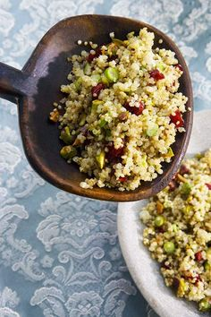Quinoa Salad with Pistachios and Cranberries Recipe