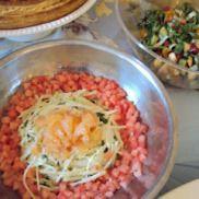 Salade de melon d'eau