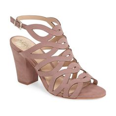 On SALE at 30% OFF! norla block heel sandal by Vince Camuto. A tapered block heel provides right-on-trend lift to a gorgeous day-to-night sandal laddered up the front with sinuou...
