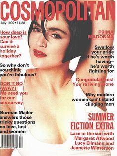 July Madonna, Queen of Pop, Cosmopolitan UK, Margaret Atwood Girls Magazine, Cool Magazine, Magazine Covers, Madonna Music, Madonna 80s, Francesco Scavullo, Cosmo Girl, Celebrity Magazines, Happy 40th Birthday