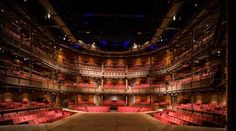 Royal Shakespeare Theatre, Stratford Upon Avon, England - seen it, been in it to watch theater. Shakespeare Theater, Royal Shakespeare Company, William Shakespeare, Places To Travel, Places To Go, Stratford Upon Avon, Stratford England, Theatre Stage, Globe Theatre