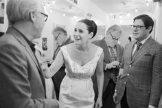 Paget Brewster in backstage of The Thrilling Adventure Hour | by Roman Cho
