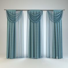 I like this striking custom drapes Wave Curtains, Drapes And Blinds, Modern Curtains, Colorful Curtains, Sheer Curtains, Drapes Curtains, Rideaux Design, Blackout Drapes, 3d Modelle