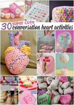 The best part is you don't just have to eat them. Here are 30 super cute things you can do with conversation hearts.