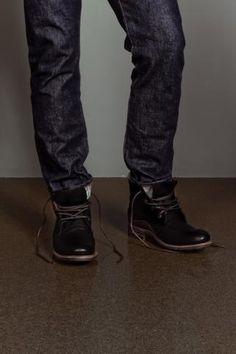 Warren Boot Black