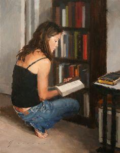 O cão que comeu o livro...: As leitoras de Vincent Giarrano / Women reading by Vincent Giarrano