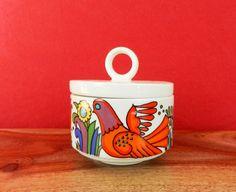 Retro lidded sugar bowl Villeroy & Boch Acapulco