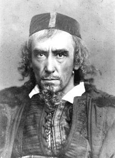Henry Irving. He looks just like a French expat I know.