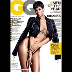@Rihanna covers GQ Magazine's Men of The Year Issue #WERQ